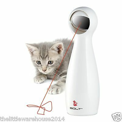 NEW FroliCat Bolt Automatic Red Laser Toy for Cats and Dogs UK Seller
