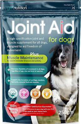 Joint Aid Dogs 250g Arthritis Healthly Joints  Posted Today if Paid Before 1pm