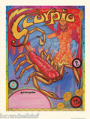 POSTER: ZODIAC #12-496  LC20 A SIGNED /& NUMBERED SAGITTARIUS by FERET