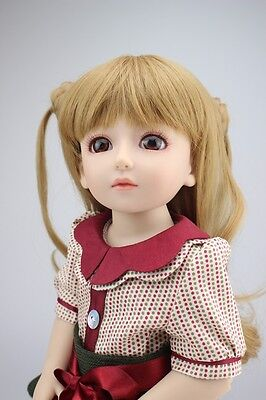 New 1/4 Handmade PVC BJD MSD Lifelike Doll Joint Dolls Baby Toy New Sylvia Gift
