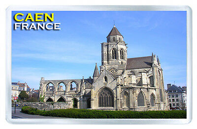 Caen France Fridge Magnet Souvenir Iman Nevera