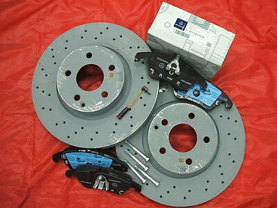 Genuine Mercedes-Benz W212 E-Class Saloon/Est Front Discs & Pads Kit NEW!