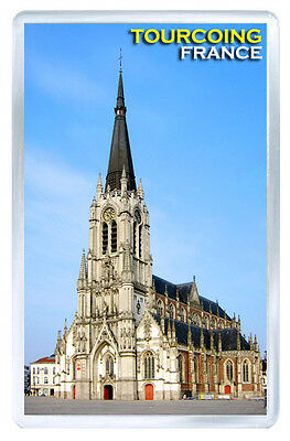 Tourcoing France Fridge Magnet Souvenir Iman Nevera