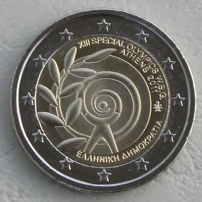 2 Euro Griechenland 2011 Special Olympics unz