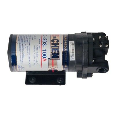 "100gpd Reverse Osmosis RO Unit Booster Pump with Transformer,1/4"" pipe fittings"