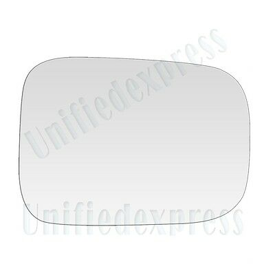 """Fits 6/""""x9/"""" NON-FOLDING MANUAL LEFT DRIVER SIDE VIEW~MIRROR-GLASS+ADHESIVE PAD"""