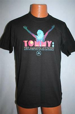 TOMMY The Amazing Journey ROCK AND ROLL HALL OF FAME T-SHIRT Medium THE WHO
