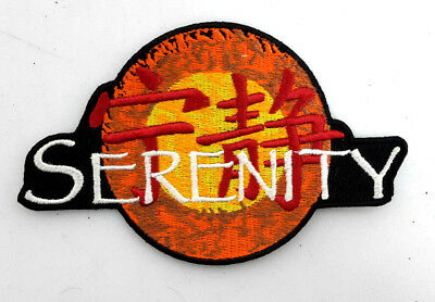 "Serenity/Firefly Logo DELUXE Embroidered Patch 4.5""-FREE S&H (SEPA-002-D)"