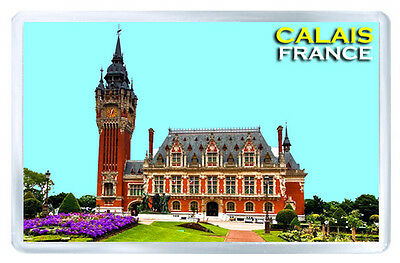 Calais France Fridge Magnet Souvenir Iman Nevera
