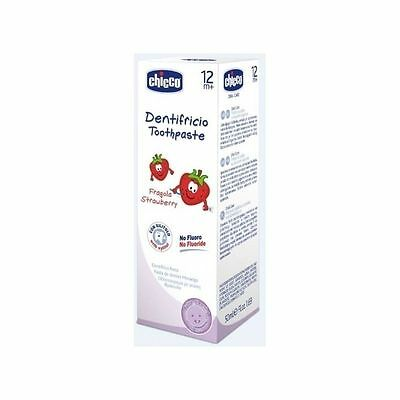 CHICCO Strawberry Toothpaste 50ml 12m +