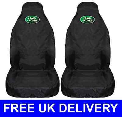 LAND ROVER CAR SEAT COVERS PROTECTORS WATERPROOF - Defender Freelander Discovery