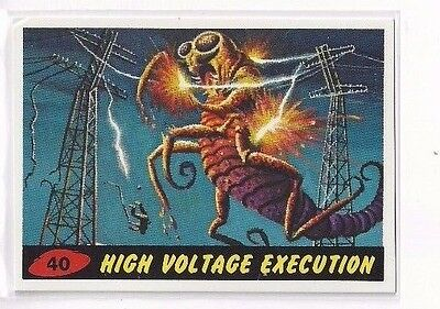 1994 Topps Mars Attacks Base Series #40 - High Voltage Execution