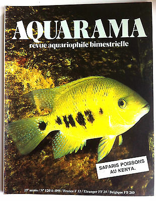 Aquarama n°120; Safaris Poissons au Kenya