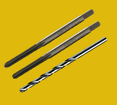 6-48 tpi High Carbon Steel   3 PIECE Tap Set     Hard to Find **