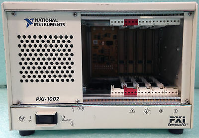 NI National Instruments; Chassis, P/N 745749-01; Model: PXI-1002