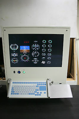 Flight Simulator Instructor Station - Industrial Computer PC *NO SOFTWARE or HDD
