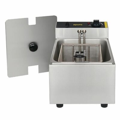 Benchtop Fryer / Deep Fryer, Single, 5 Litre, Chips / Fries, Apuro Equipment
