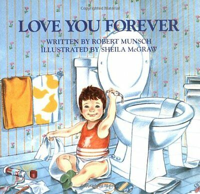 Love You Forever by Robert Munsch (Paperback) FREE SHIPPING  CXX