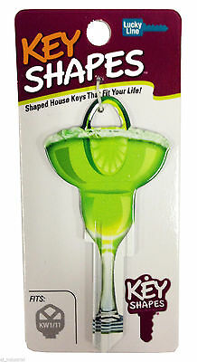 Margarita Glass - Novelty Front Door House Key Blank - Lw4 C4