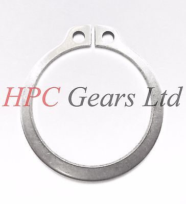 5 x Stainless Steel 15mm External Circlip DIN471 Circlips Pack HPC Gears