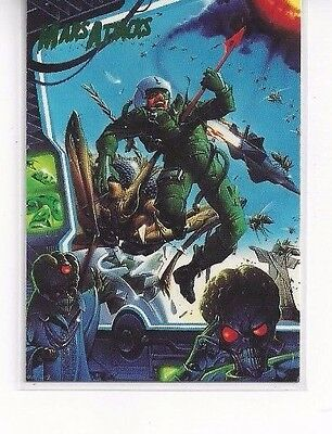 1994 Topps Mars Attacks Base Series #69 - The Comics Issue #3 Ken Steacy Cover