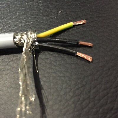 3 Core Screened Shielded Sensor Wire Ideal for Crank Cam Speed Sensors sold perM