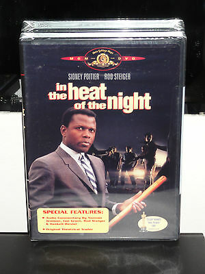In the Heat of the Night (DVD) Sidney Poitier, Rod Steiger, Lee Grant, NEW!