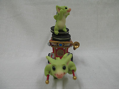 Whimsical World Of Pocket Dragons Go! Go! Getaway Cart Real Musgrave NIB