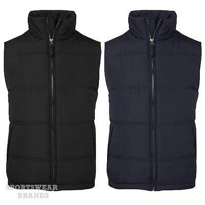 Adults Adventure Vest Puffy Warm Sports Casual Mens Winter Black Navy New 3ADV