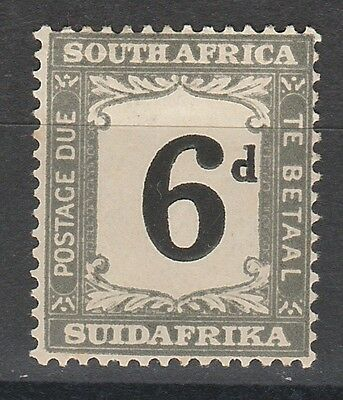 South Africa 1927 Postage Due 6D