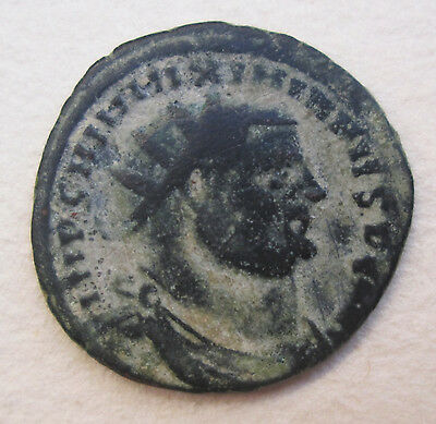 Maximianus Ancient Roman Imperial Bronze Coin Archaeology