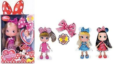 I LOVE MINNIE BAMBOLA FASHION GLITTER assortite scegli la tua preferita