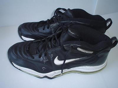 brand new 50269 aac0d Nike Airforce Shoes Signed Todd Fuller Nba Autograph Golden State Warriors