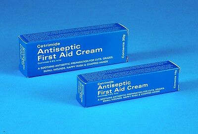 Cetrimide Antiseptic First Aid Cream - Available in 2 sizes - 15gm and 30gm
