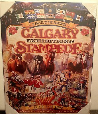 Calgary Stampede Poster Plaque - NEW