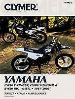 Clymer Yamaha Pw50 And Pw80 Y-Zinger And Bw80 Big Wheel 1981-2002 (M4922)
