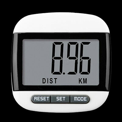 Large LCD Waterproof Step Pedometer Sport Calorie Counter Walking Distance