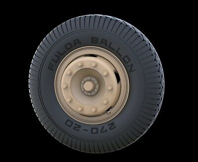 PANZER ART,1/35 RE35-244 Road Wheels for Mercedes 4500 (Early Pattern)