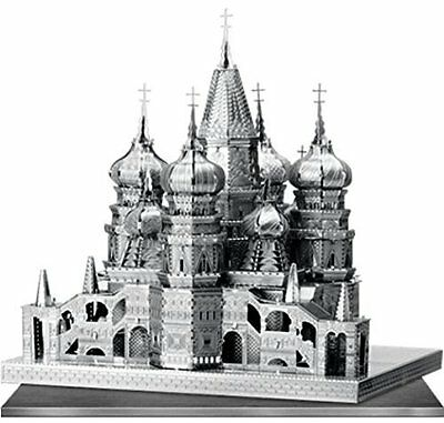 St Basil's Cathedral : Metal Earth Iconx 3D Laser Cut Miniature Model Kit