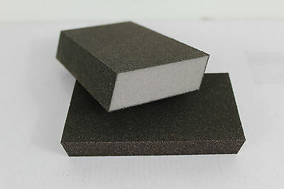 New Dual Angle Sanding Sponge (Fine/Medium) Lot of 100 Made in USA
