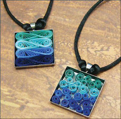 Quilled Creations Quilling Kit - Modern Waves Necklace
