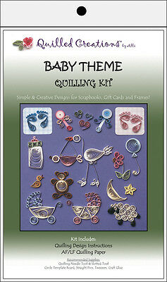Quilled Creations Quilling Kit - Baby Theme