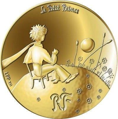 50 Euro 2015 Or Gold Little Prince Petit Prince #2 Planet With Sun Pack Complet