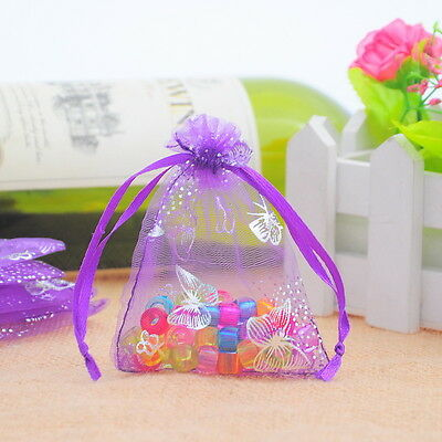 Luxury Premium Organza Gift Bags Wedding Christmas Jewellery Draw String Pouches