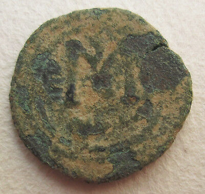 Arab Byzantine Bronze Coin Ancient Tiberias Archaeology • CAD $88.20