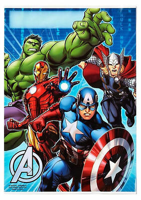 Avengers Birthday Party Supplies Loot Lolly Treat Bags Pack of 8