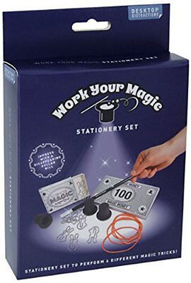 Desktop Work Your Magic Stationery Set Novelty Fun for Office School or Home