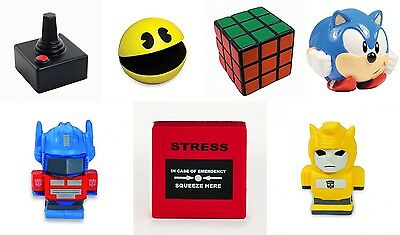 Pac-Man Stress Reliever Ball Stressball ADHD Autism Mood Squeeze Office Gift