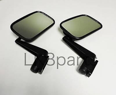 Land Rover Defender 90 110 Mirror And Arm Assembly Set Of 2 Mtc5217 New