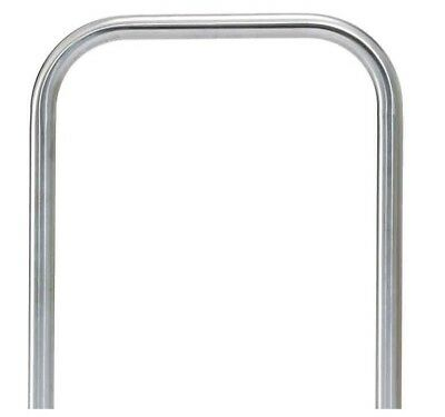 Brushed Stainless Steel 48.3mm dia Sheffield Cycle Stand Bike Hoop 304/316